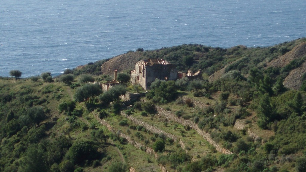 Ruine Speany Et Terrasses Amenagees