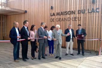 Inauguration De La Maison Du Lac De Grand Lieu Loire Atlantique Conservatoire Du Littoral