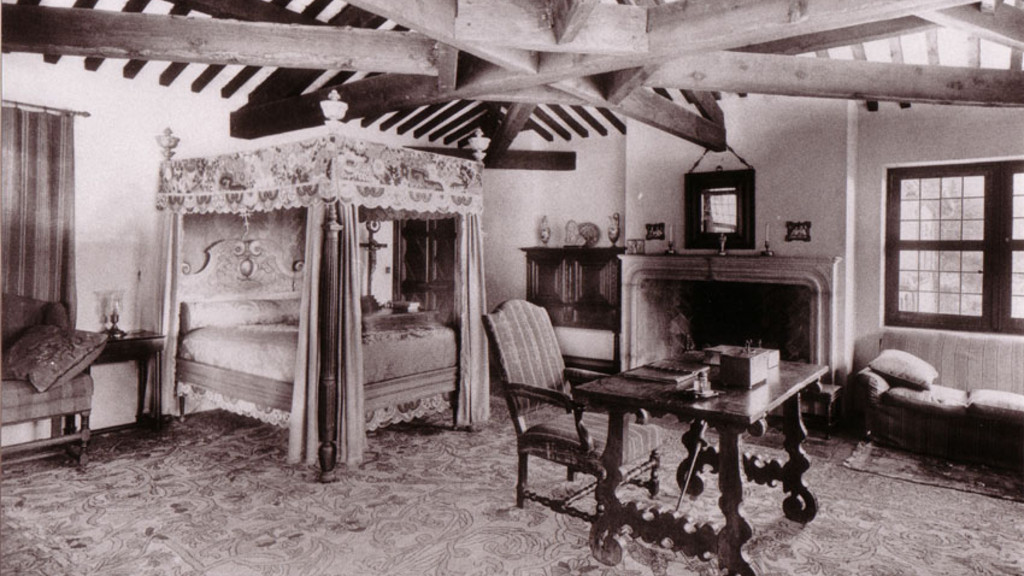 La chambre de Sir L. JOHNSTON
